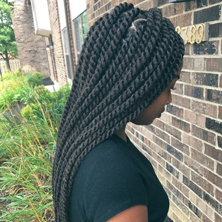 Summer Protective Hairstyles – Soul Ethnicity Jamaican Rope Twist Braids